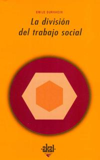DIVISION DEL TRABAJO SOCIAL