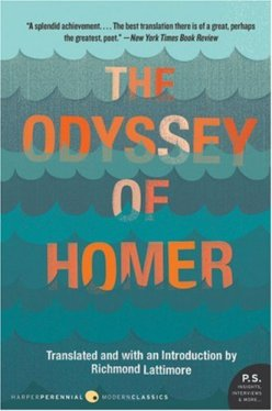 The Odyssey of Homer  lattimore